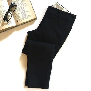 J.Crew Black Cropped Dress Pants